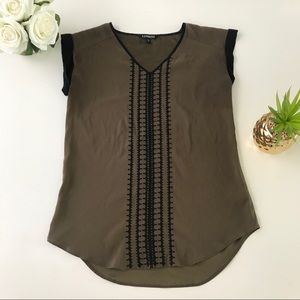 Express XS Sleeveless Shirt